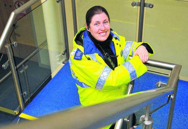 This Is Wiltshire: PCSO Emma Turner gets behind Wiltshire Police's campaign to recruit more PSCOs