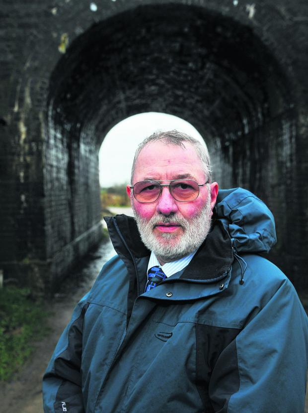 This Is Wiltshire: Councillor Wayne Crabbe describes plans to build a tunnel under the M4 for the Wichelstowe  development as mad. He wants a bridge built over the railway