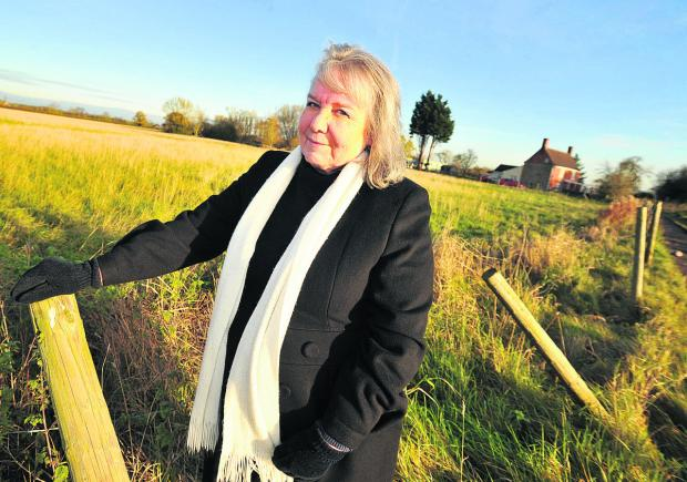 This Is Wiltshire: Sylvia Brown, vice chairman of South Marston Parish Council