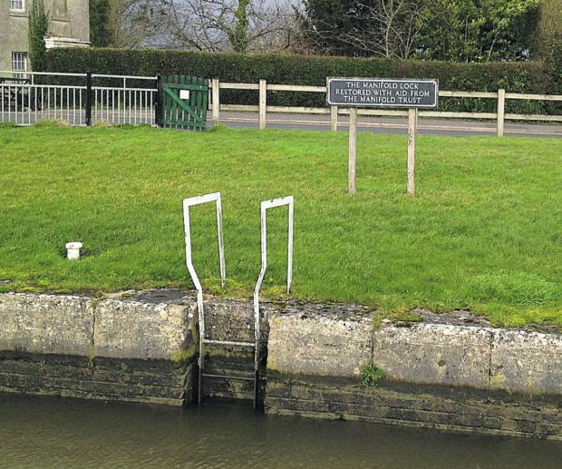 This Is Wiltshire: Lock gates on the Caen Hill flight in Devizes have been restored