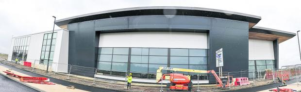 This Is Wiltshire: Waitrose to open next week as store nears completion