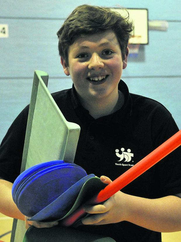 This Is Wiltshire: Young Warminster volunteer Kieran Strong is a finalist in the national vInspired Awards