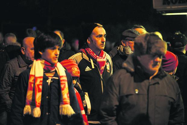 This Is Wiltshire: Heartbroken Town fans after last night's game