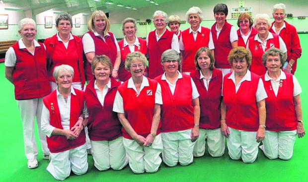 This Is Wiltshire: North Wilts Ladies' Yetton Plate team