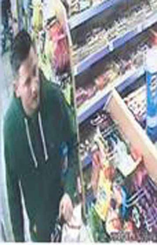 This Is Wiltshire: CCTV footage of suspect one