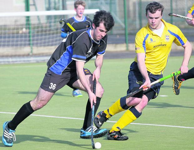 This Is Wiltshire: Devizes' Callum Lavens starts an attack during his side's thumping win over Bath Buccs D on Saturday
