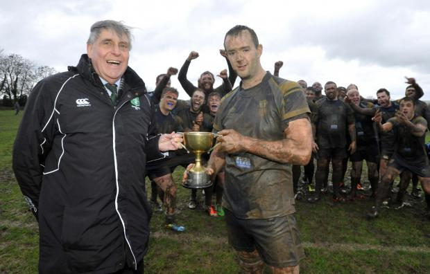This Is Wiltshire: Trowbridge skipper Matt Howard (right)