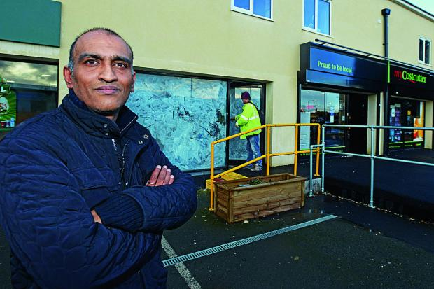This Is Wiltshire: Survjit Bains is set to open a fish and chip shop in Stratton despite objections from other local takeaways