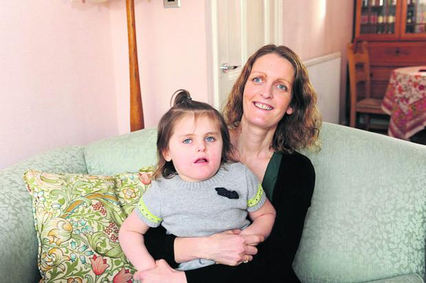 This Is Wiltshire: Emily Wadds and daughter Lydia