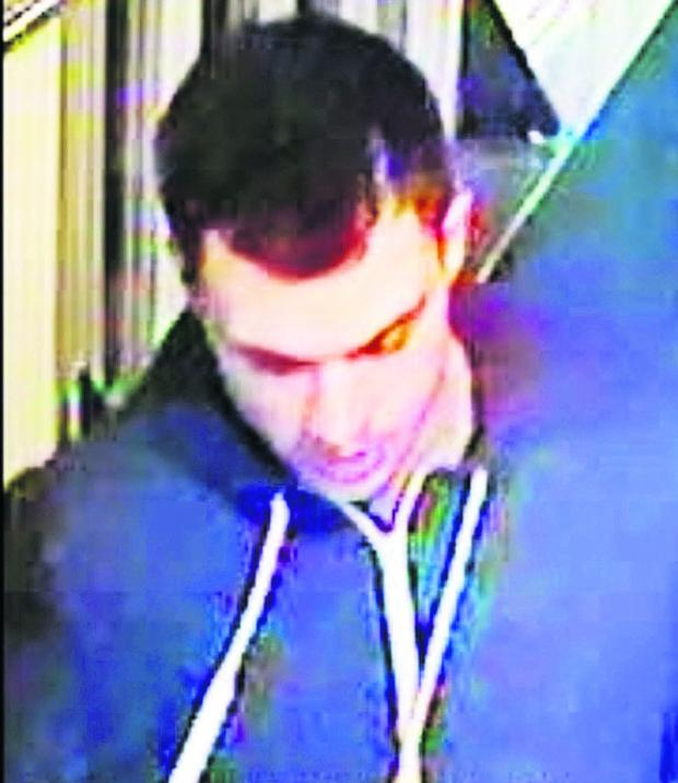 This Is Wiltshire: One of the CCTV image
