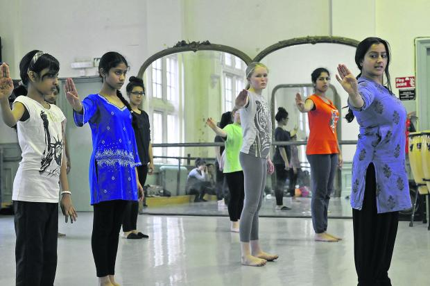 This Is Wiltshire: Swindon Dance rehearsing with choreographer Sonia Sabri