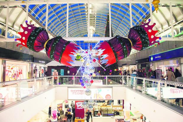 This Is Wiltshire: The Brunel Centre has been boosted by a successful Christmas