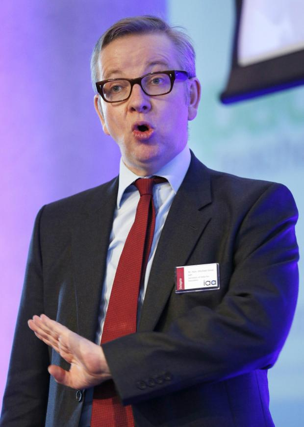 This Is Wiltshire: Education secretary Michael Gove