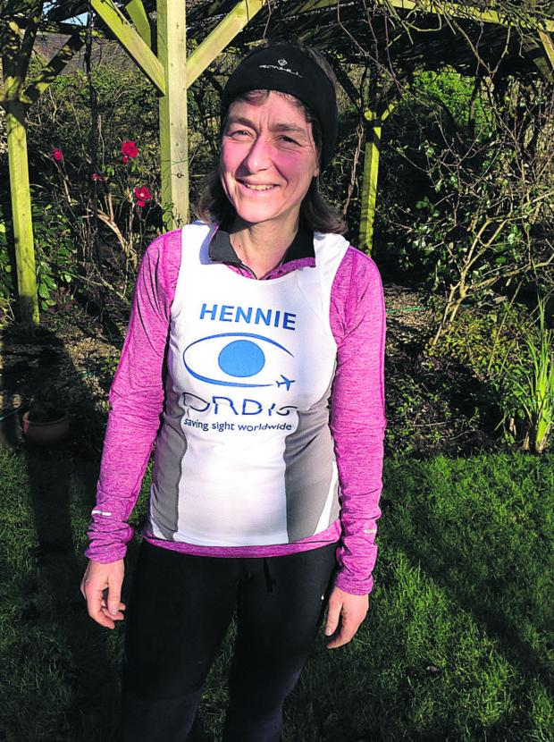 This Is Wiltshire: Biddestone mum and sons run half-marathon to aid sight-saving charity