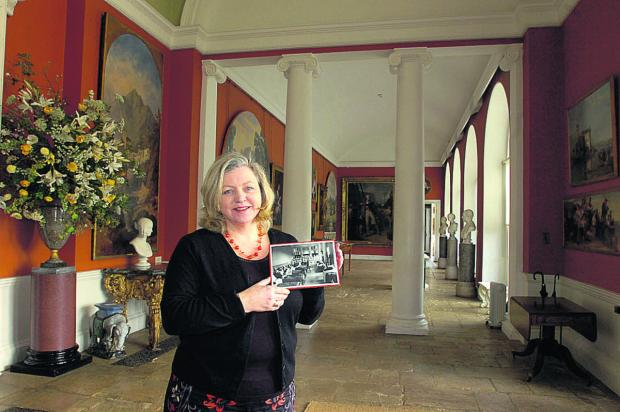 This Is Wiltshire: Curator Jo Johnston in the Orangery