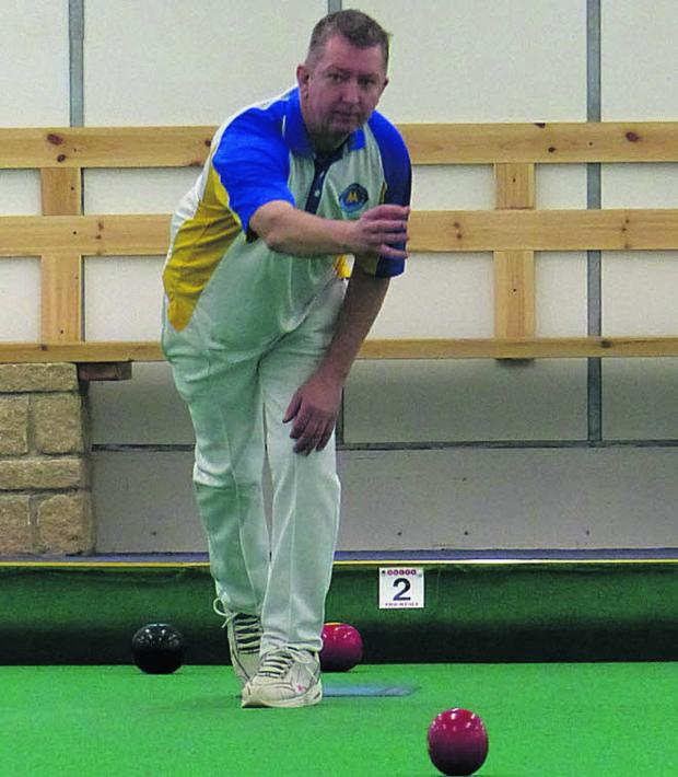 This Is Wiltshire: Danny Dennison, from the Torquay United club, is ranked fourth, the highest Planetbowls player at the Clarrie Open