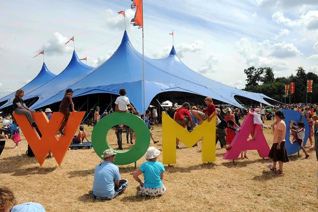 This Is Wiltshire: Catering will be of an even higher standard at the WOMAD festival this year