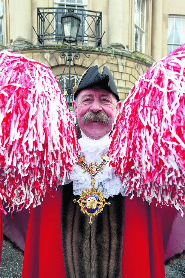 This Is Wiltshire: Devizes' dancing mayor Pete Smith
