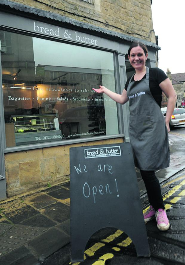 This Is Wiltshire: Shauna Green is back in business at her sandwich shop