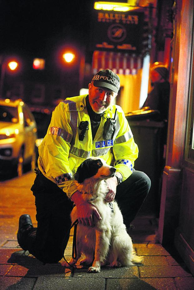 This Is Wiltshire: PC Steve Duffy with Patch
