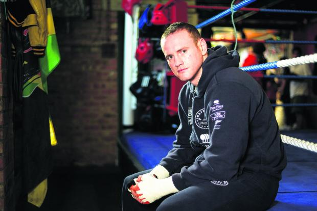This Is Wiltshire: George Groves at Fritzpatrick boxing club
