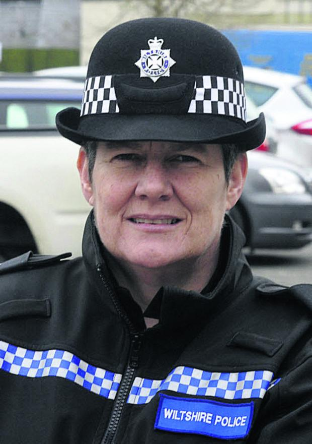 This Is Wiltshire: Inspector Lisette Harvey co-ordinated the Operation Harness day of action