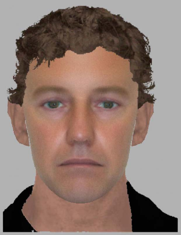 This Is Wiltshire: An e-fit of the man police wish to speak to following an attempted distraction burglary