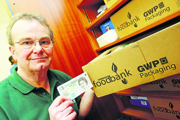This Is Wiltshire: David Hartridge, project manager for the Foodbank in Swindon