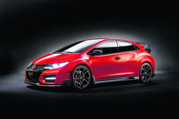 This Is Wiltshire: Classy Civic is unveiled by Honda