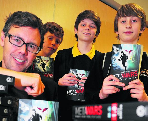 This Is Wiltshire: Teen author proves a hit with pupils
