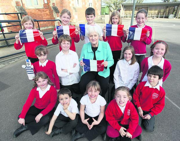 This Is Wiltshire: Linda Bolter is retiring from Le Club Francais after school club  (VS201) By VICKY SCIPIO