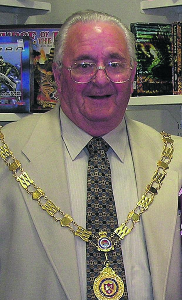 This Is Wiltshire: Former Royal Wootton Bassett mayor Percy Miles