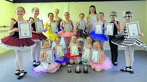 This Is Wiltshire: Dance Academy pupils with  their prizes