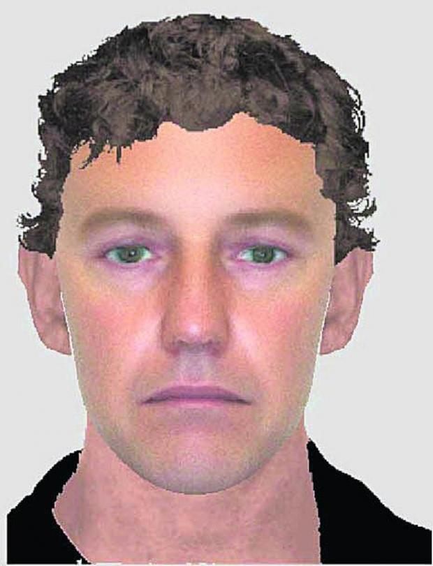 This Is Wiltshire: An e-fit of the man Police want