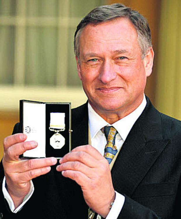 This Is Wiltshire: Explorer David Hempleman-Adams says his Polar Medal is better than a knighthood