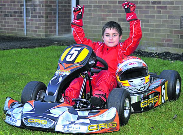This Is Wiltshire: Young kart racer Enzo Toms