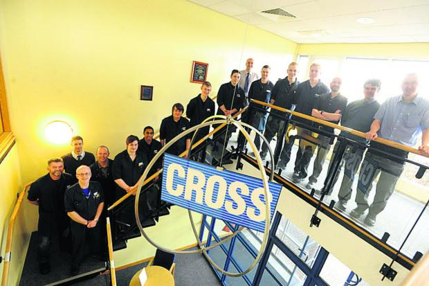 This Is Wiltshire: Cross Manufacturing apprentices past and present