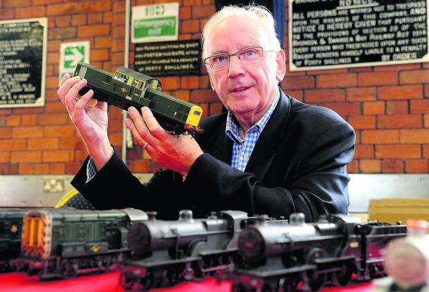 This Is Wiltshire: Pete Waterman at a previous Swindon Railway Festival at Steam