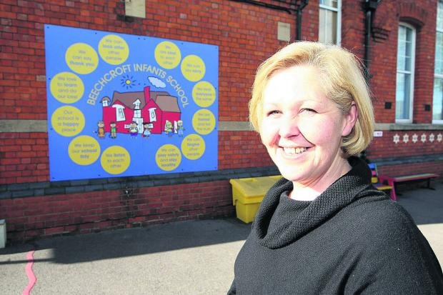 This Is Wiltshire: Beechcroft School headteacher Jo-Anne Rutt