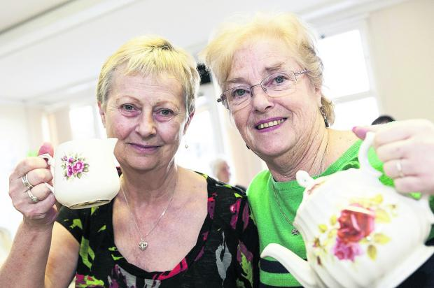This Is Wiltshire: Jackie Hirst and Jill Plant, of Eastcott Community Group