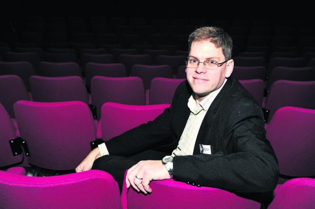 This Is Wiltshire: Theatre director Derek Aldridge in the Wyvern auditorium