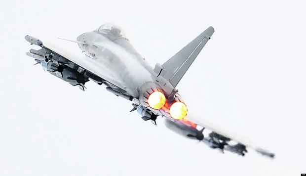 This Is Wiltshire: A Typhoon will be the star attraction at this July's Royal International Air Tattoo