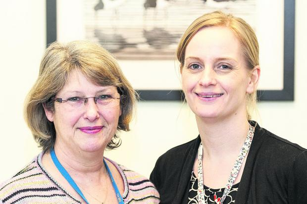 This Is Wiltshire: Helen Pepler and Rebecca King are offering support to the bereaved