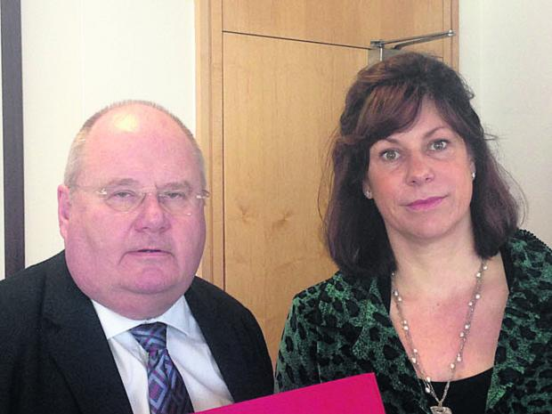 This Is Wiltshire: Claire Perry and Eric Pickles