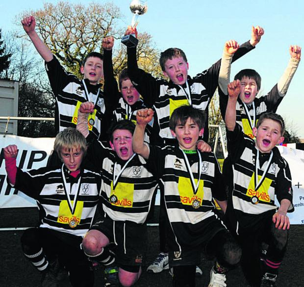 This Is Wiltshire: Red Cup winners Chippenham U10s