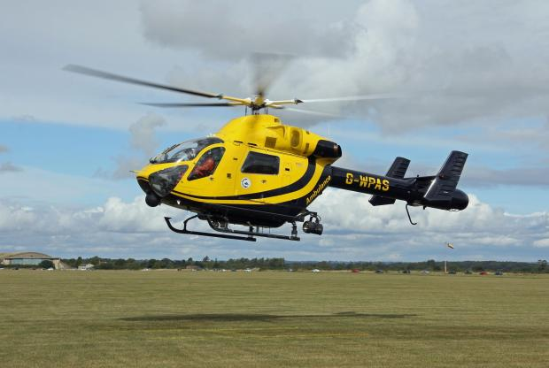 This Is Wiltshire: Rider airlifted after horse fall in Melksham