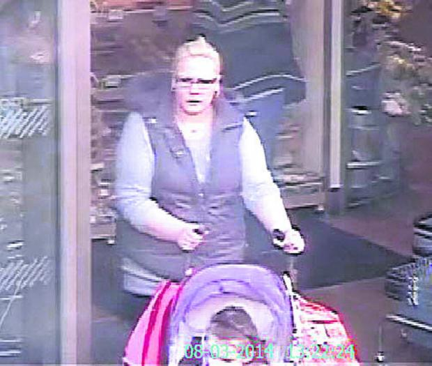 This Is Wiltshire: Police want to hear from anyone who recognises the woman in this CCTV image taken at the Waitrose store in Chippenham