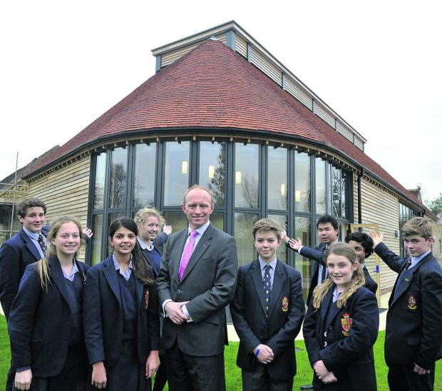 This Is Wiltshire: Warminster School headteacher Mark Mortimer and
