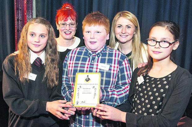 This Is Wiltshire: Kids United with their award