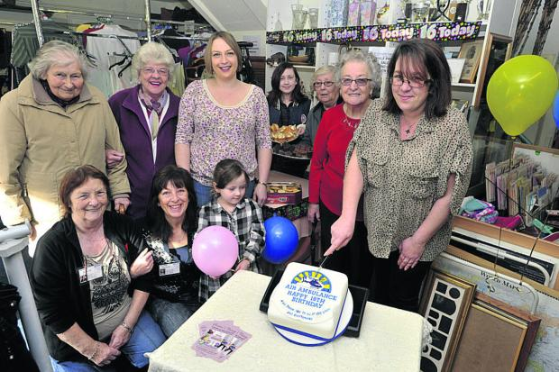 This Is Wiltshire: Westbury air charity celebrates sweet 16th